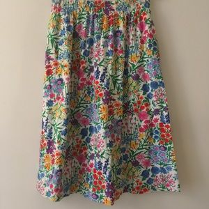 ✨💫Fun vintage 80s midi skirt in perfect condition